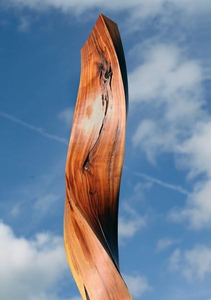 Kunst |Kunstwerke |Designstücke |Stelen aus Holz |Art Deco.