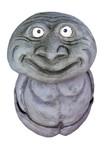 Stele aus Holz, Moto Wood Art, Art Deko, Guter Geist, Y-Tong, ca 100 cm