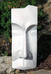 Stele aus Holz, Moto Wood Art, Art Deko, Die Maske, Tanne, ca 30 cm