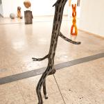 Skulptur, Linde, geflammt