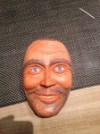 Stele aus Holz, Moto Wood Art, Art Deko, Wellendinger Larve, Gerd A, Hexenreiter, , Holzmasken, FasttnachtslarvenLinde